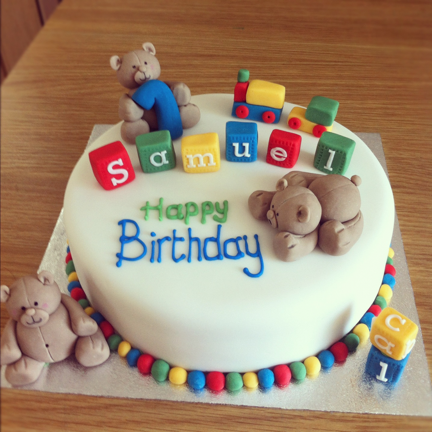 1435 X In 23 Marvelous Picture Of 1 Birthday Cake