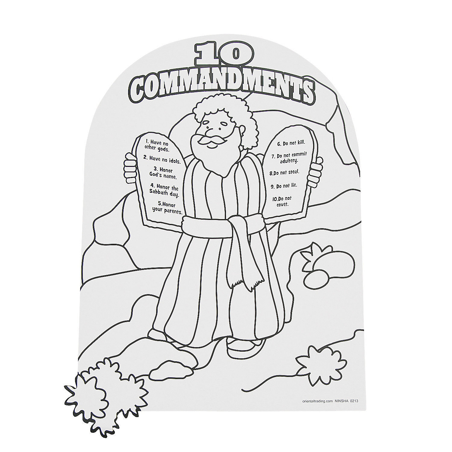 10 Commandments Coloring Pages 10 Commandments Coloring Pages Free