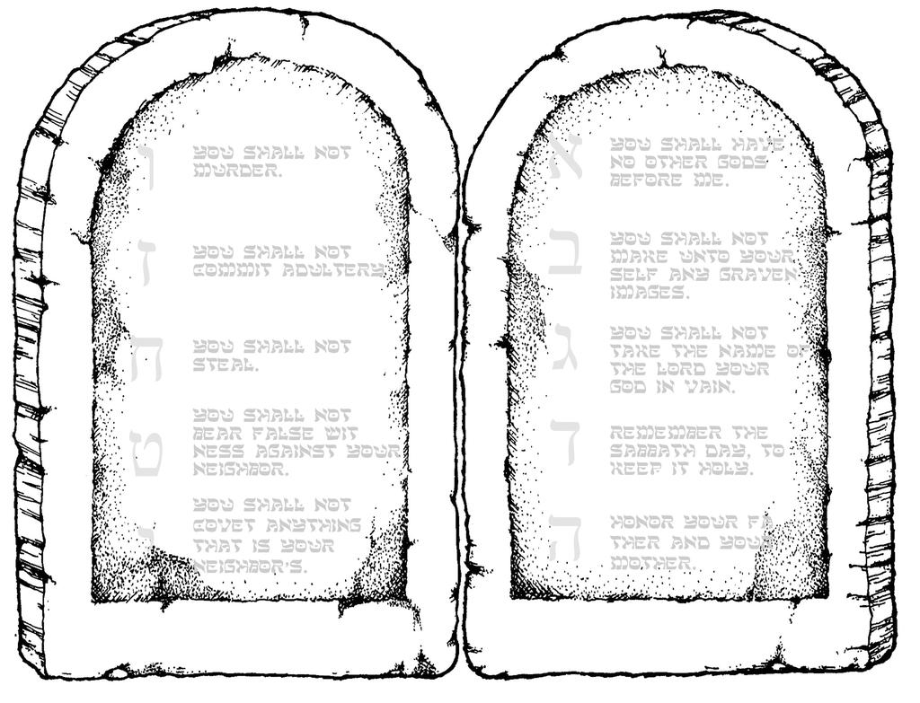 10 Commandments Coloring Pages 10 Commandments Coloring Pages God Is Kid Colorings