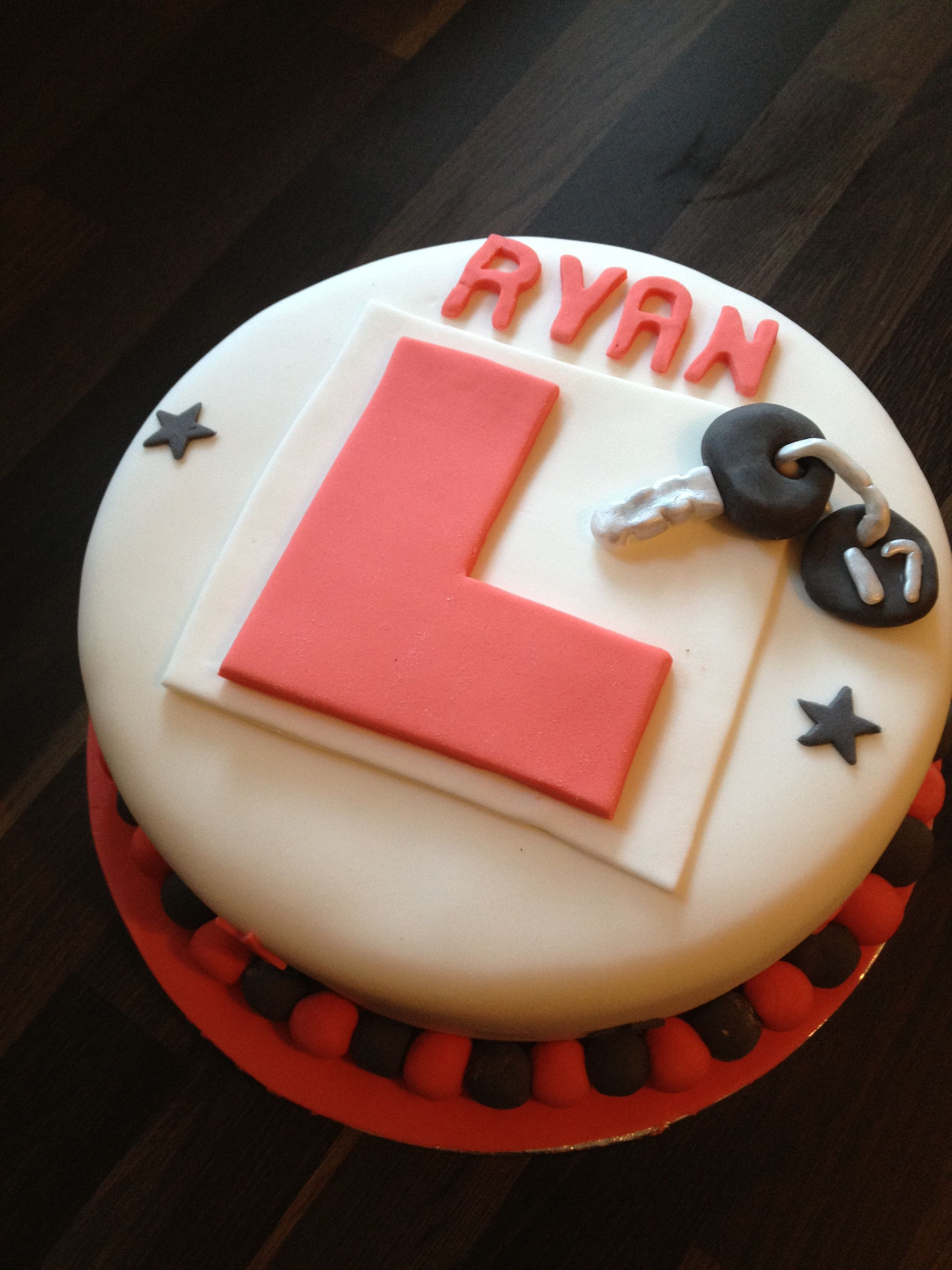 17Th Birthday Cake 17th Birthday Learner Driver Cake Carly Cake In 2019