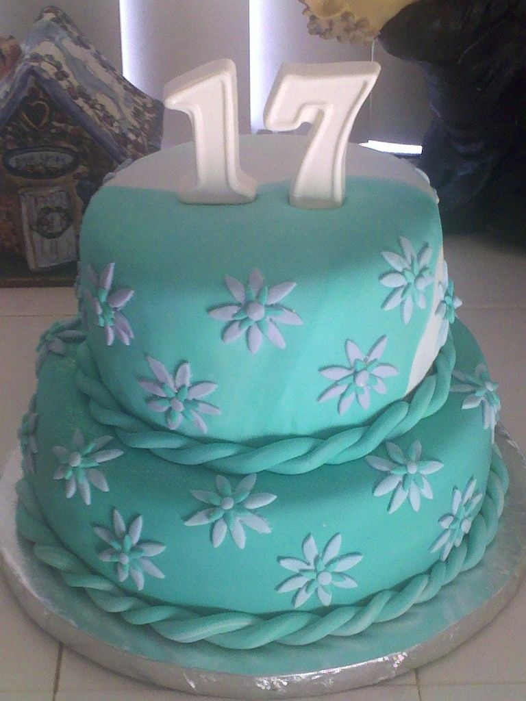 17Th Birthday Cake Happy 17th Birthday Summer My Cake Creations Pinterest 17th