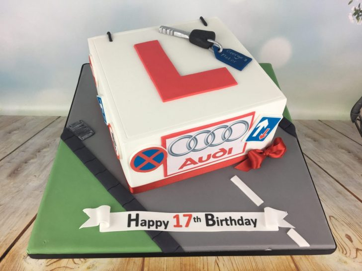 17Th Birthday Cake Learner Driver Birthday Cake Mels Amazing Cakes