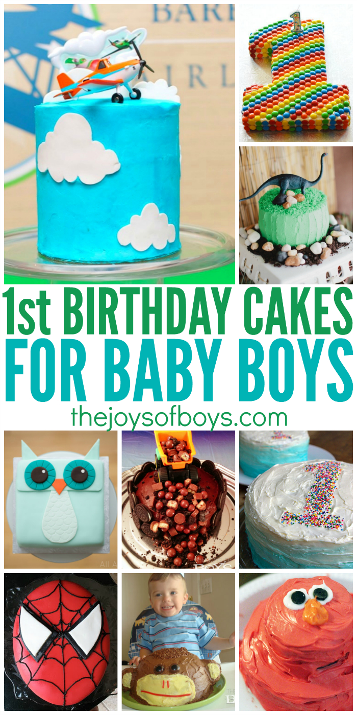 1St Birthday Cake Boy 25 First Birthday Cakes For Boys Perfect For 1st Birthday Party