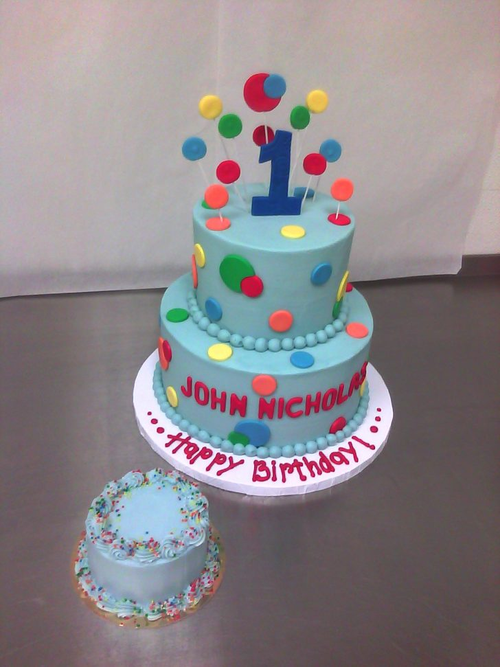 1St Birthday Cake Boy Boys 1st Birthday Main Made Custom Cakes