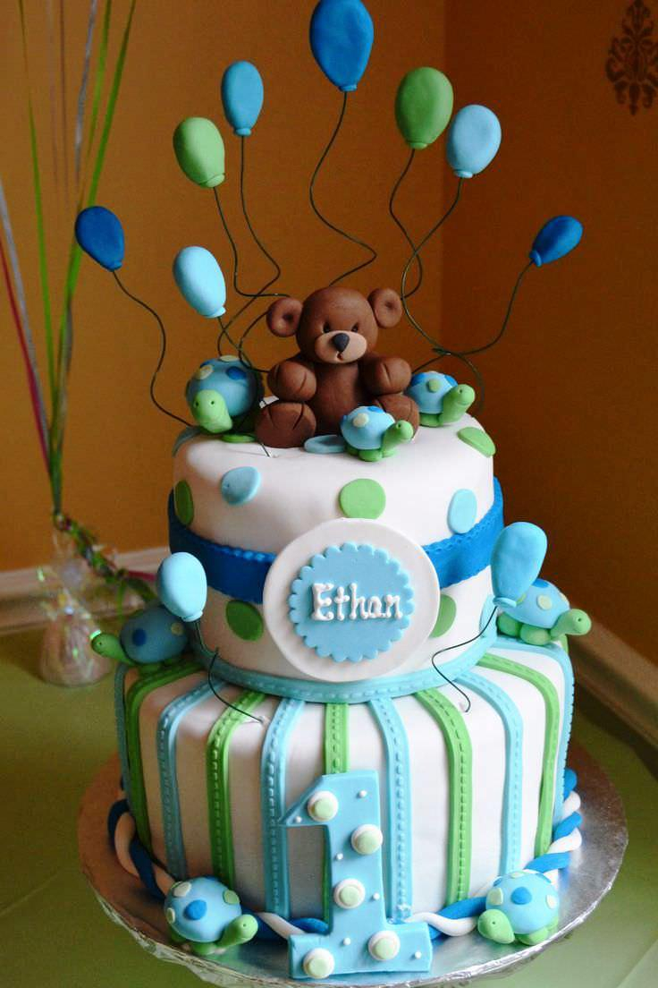 1St Birthday Cake Boy First Birthday Ba Cake Boy Ideas Protoblogr Design 1st