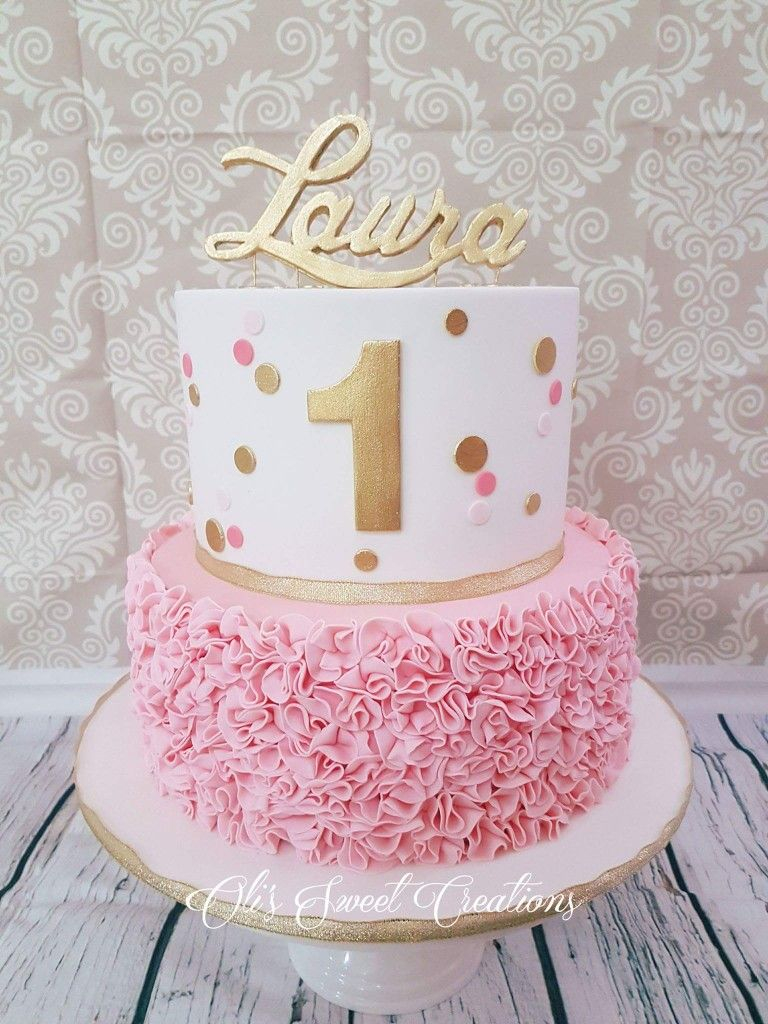 21+ Inspiration Picture of 1St Birthday Cake For Girl