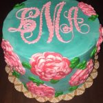 20Th Birthday Cakes Lily Pulitzer 20th Birthday Cake Lilly Pink And Green Party Preppy