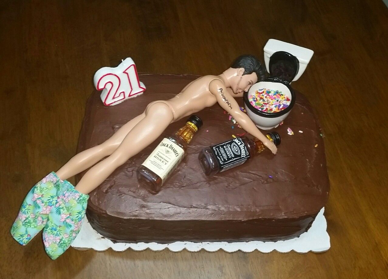 918 In 23 Excellent Picture Of 21St Birthday Cake Ideas For Him