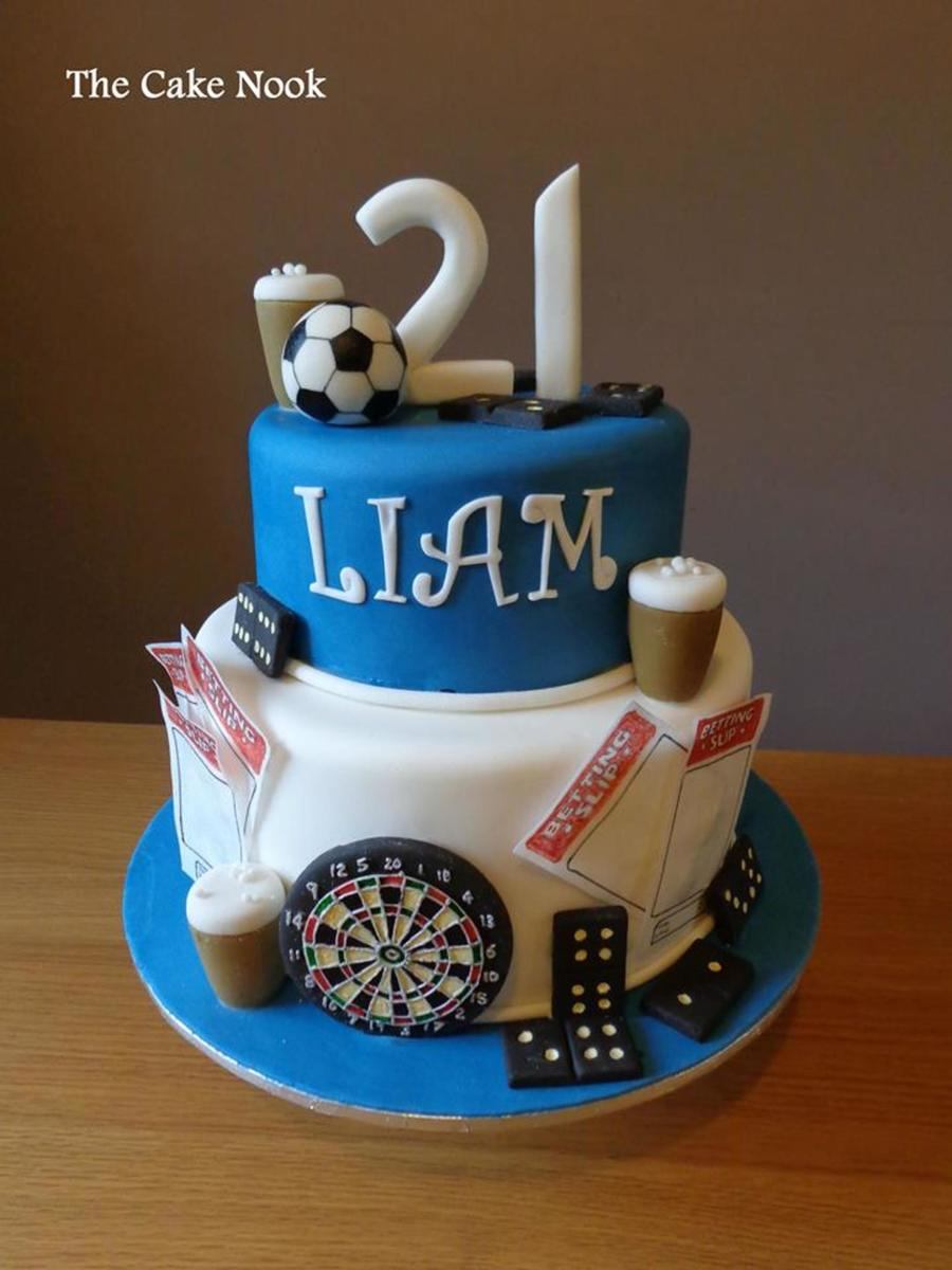 21St Birthday Cake Ideas For Him Mans 21st Birthday Cake Cakecentral