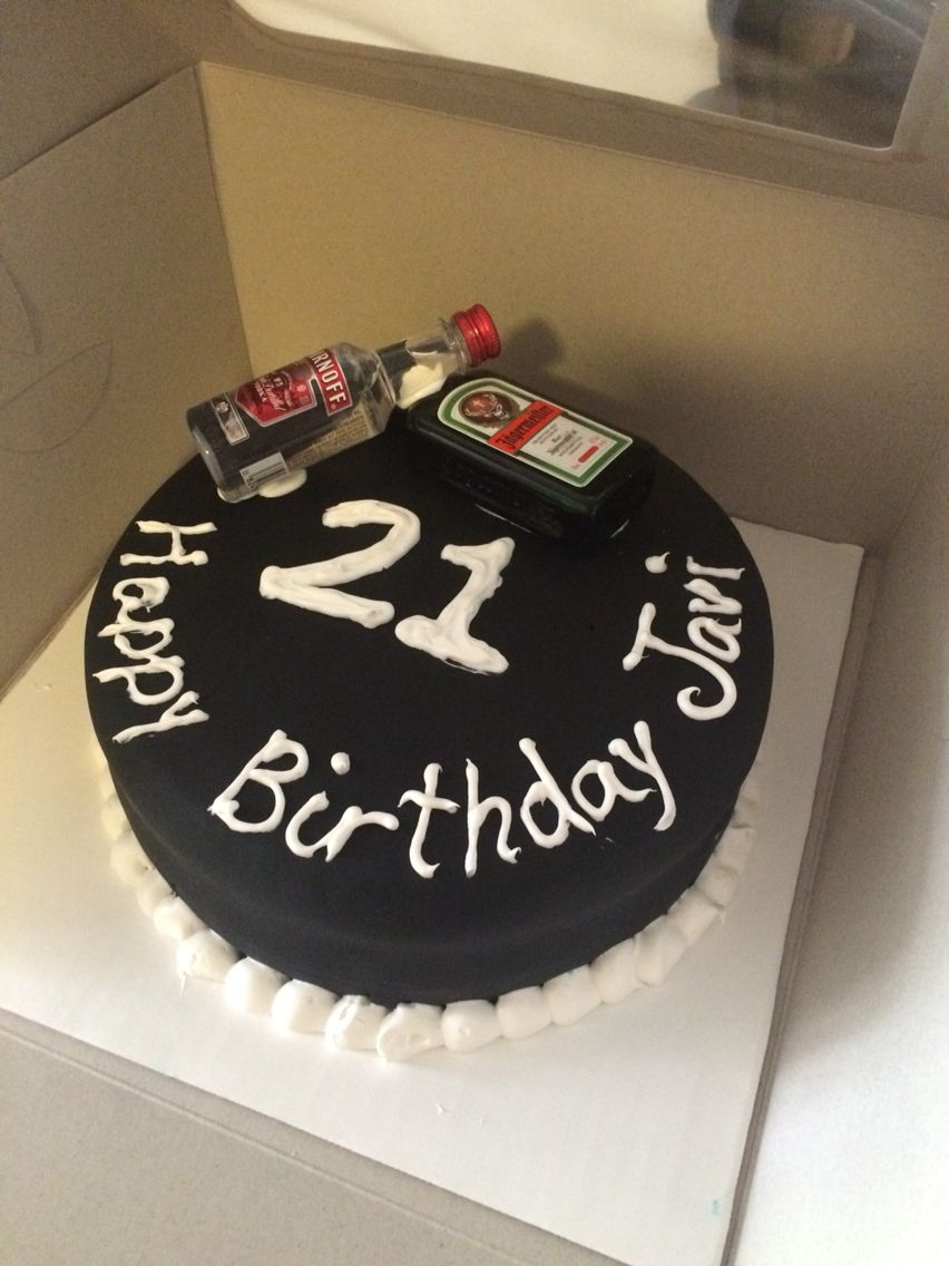 21St Birthday Cake Ideas For Him Simple But Nice Cake For Guys 21st Birthday Baking Pinterest