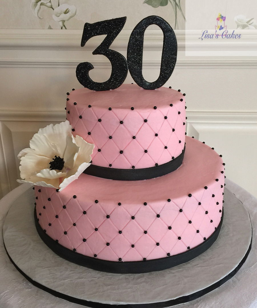 1081 In 32 Wonderful Image Of 30Th Birthday Cake Ideas
