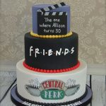 30Th Birthday Cake Ideas Friends Themed 30th Birthday Cake Cakecentral