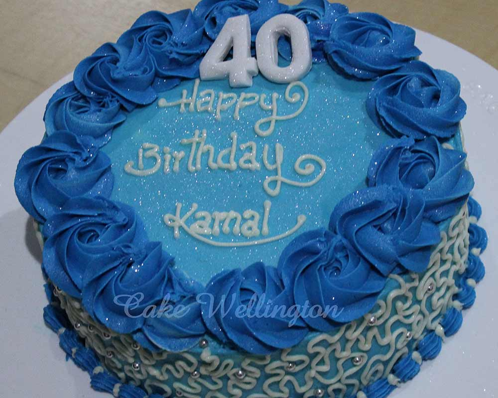40Th Birthday Cakes For Her 40th Birthday Cake For Him Her Men Ladies Ideas Decorations
