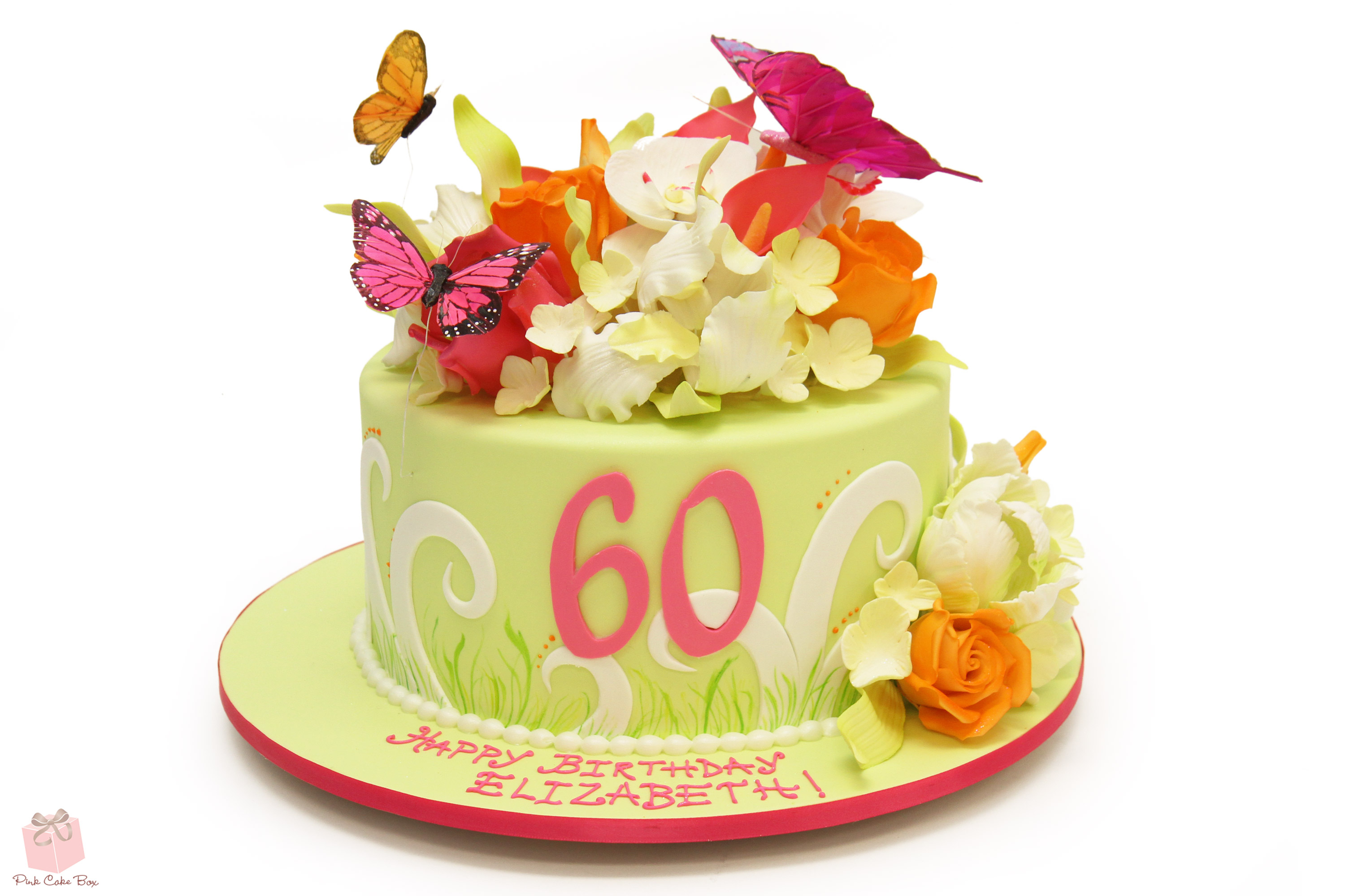 40Th Birthday Cakes For Her Whimsical 40th Birthday Cake