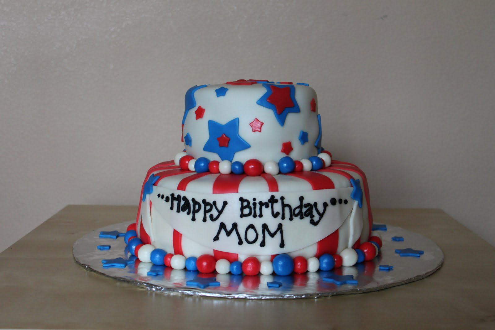 4Th Of July Birthday Cakes Cakes Sheree 4th Of July Birthday Cake
