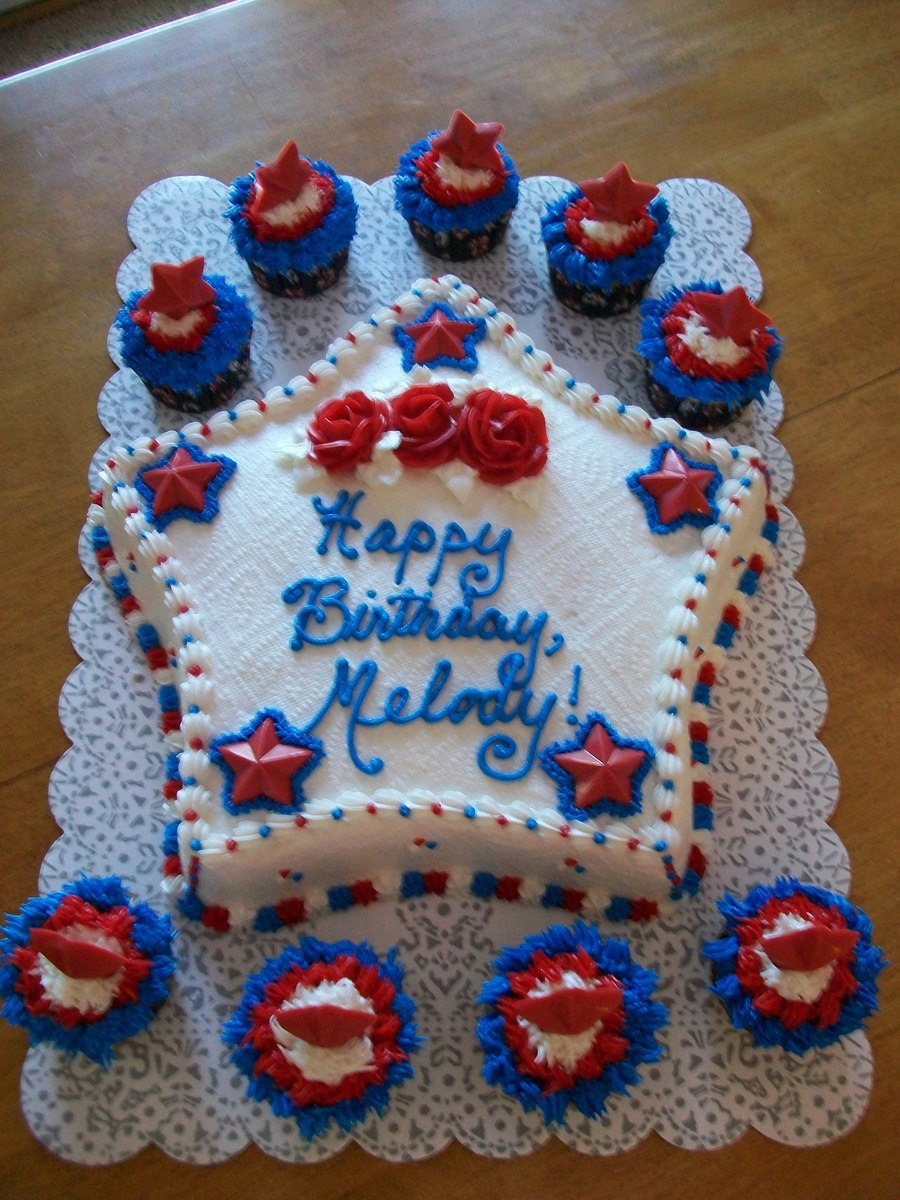 4Th Of July Birthday Cakes Happy 4th Of July Birthday Cakecentral