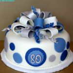 80Th Birthday Cake Best 80th Birthday Cake Decorations 2015 The Best Party Cake
