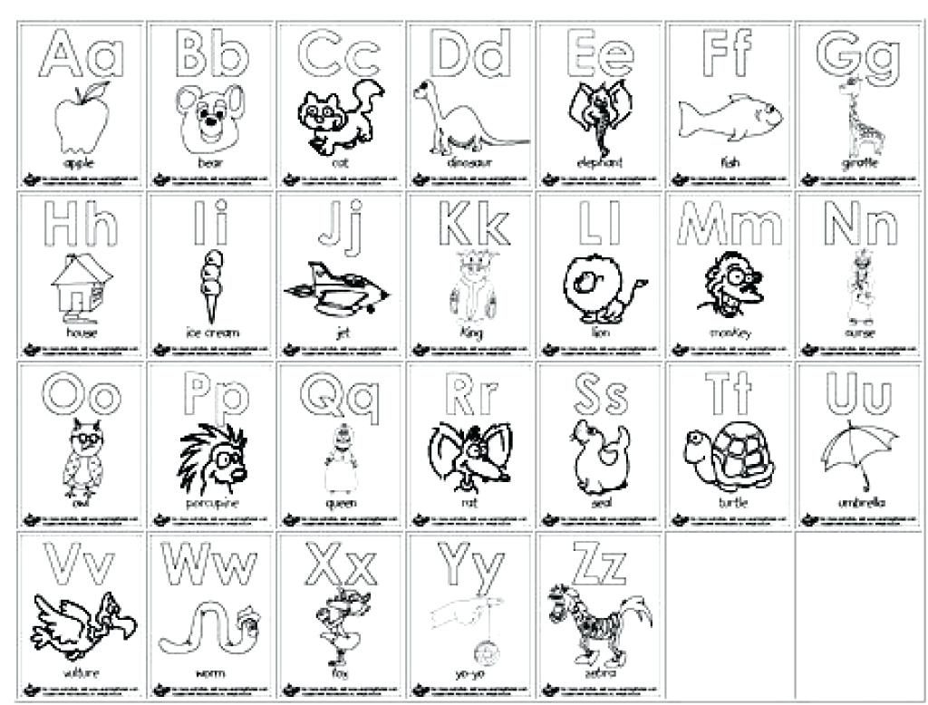 Az Coloring Pages Alphabet Coloring Pages Az Bitslice