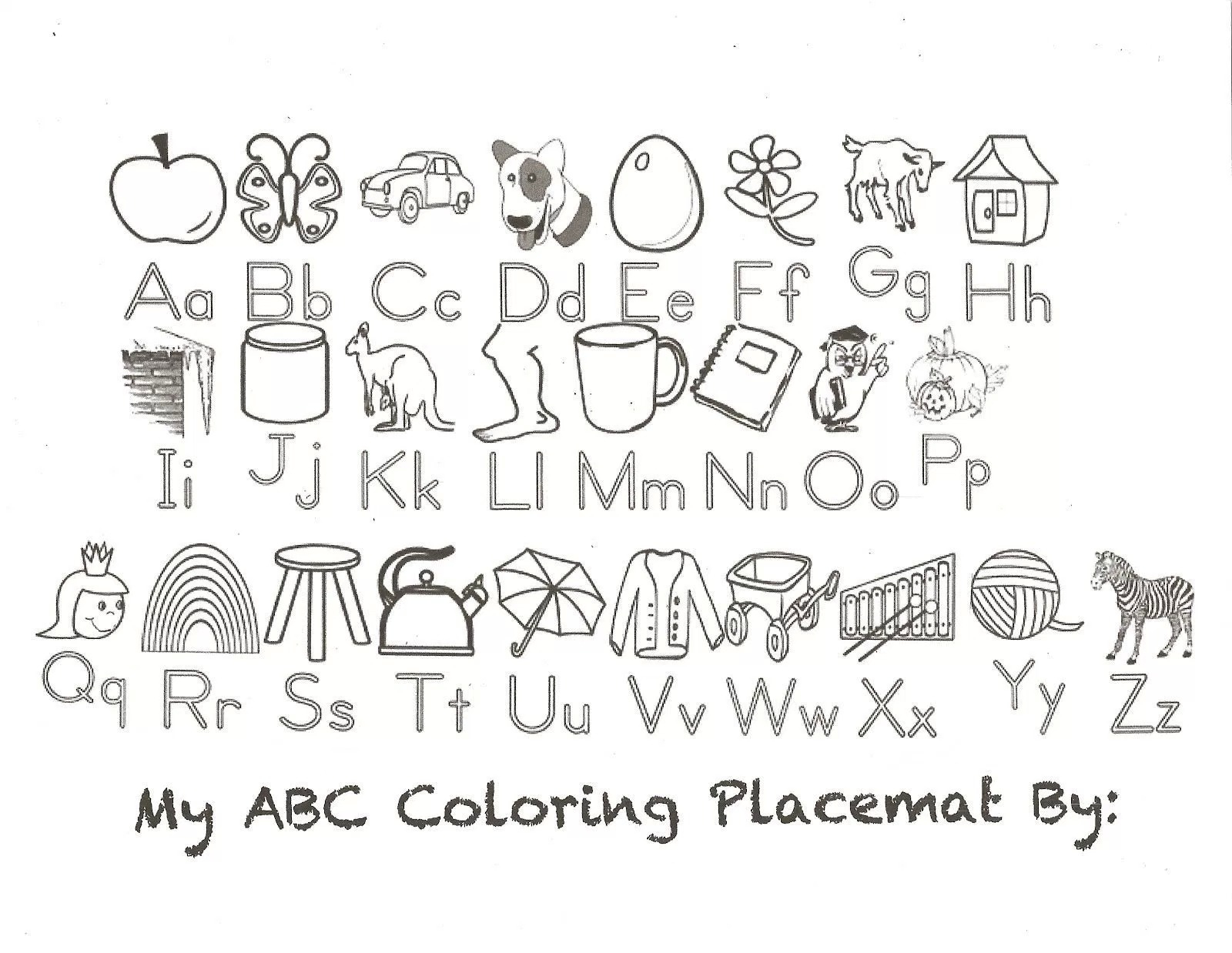 Az Coloring Pages Alphabet Coloring Pages Az Fun Time