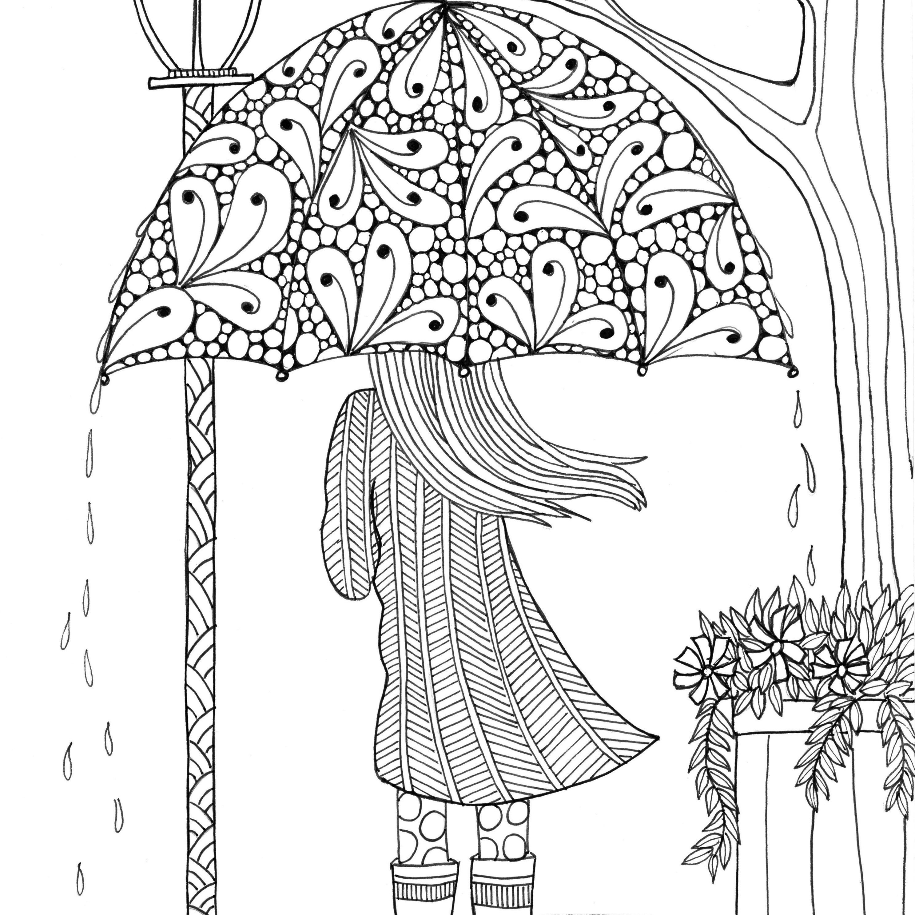 21+ Pretty Image of Adult Coloring Pages