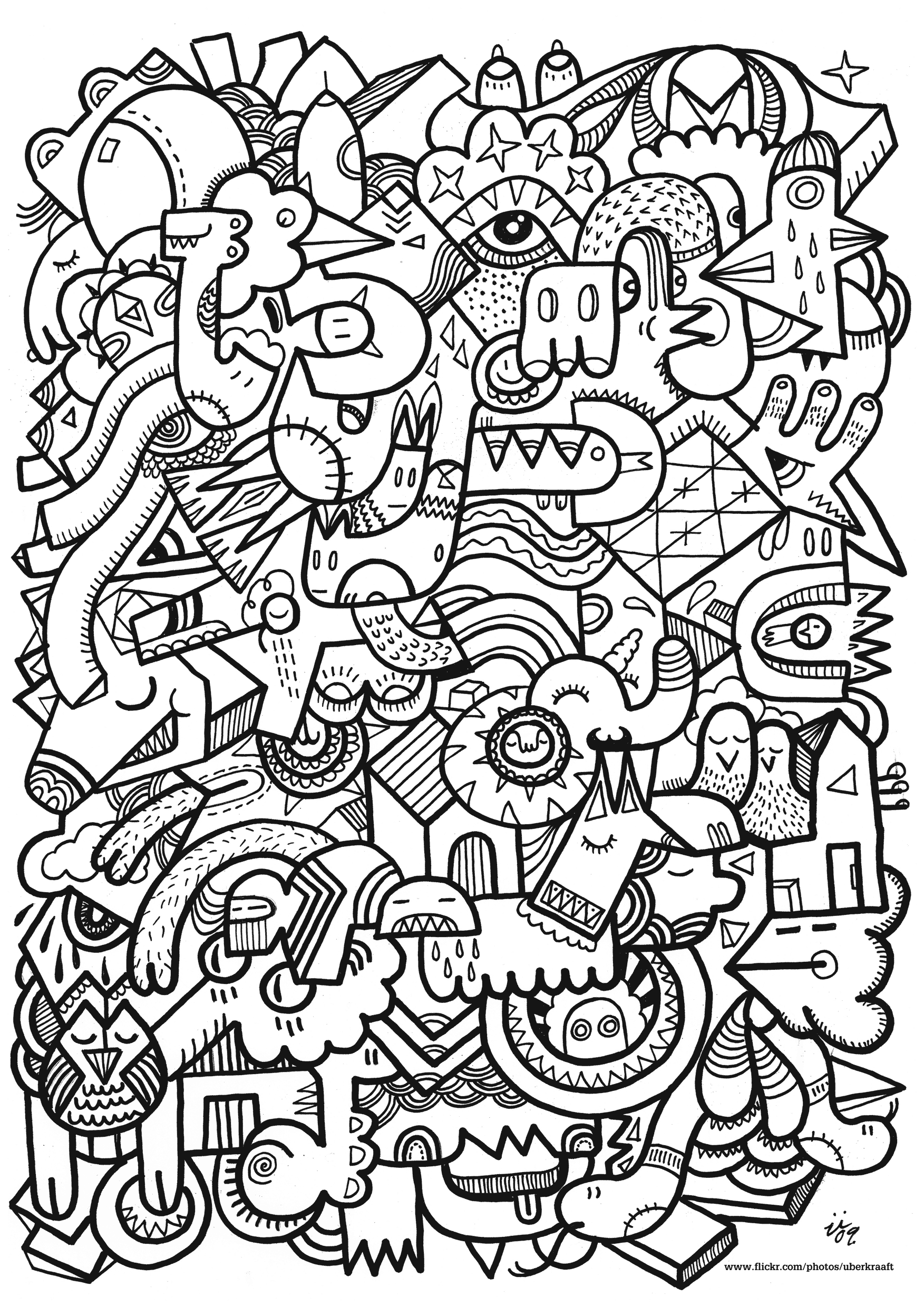 Adult Coloring Pages To Print For Children Adult Kids Coloring Pages
