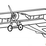 Airplane Coloring Pages Airplane Coloring Pages Free Printable Bw Pictures