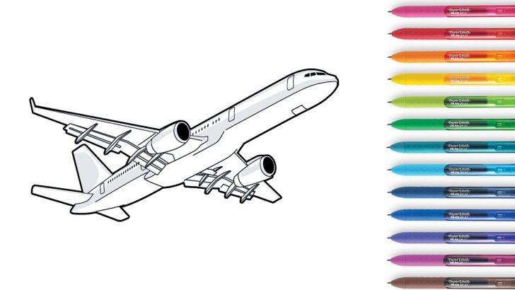 Airplane Coloring Pages Airplane Coloring Pages Planes Coloring Books For Kids Youtube