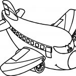 Airplane Coloring Pages Cartoon Airplane Coloring Pages At Getdrawings Free For