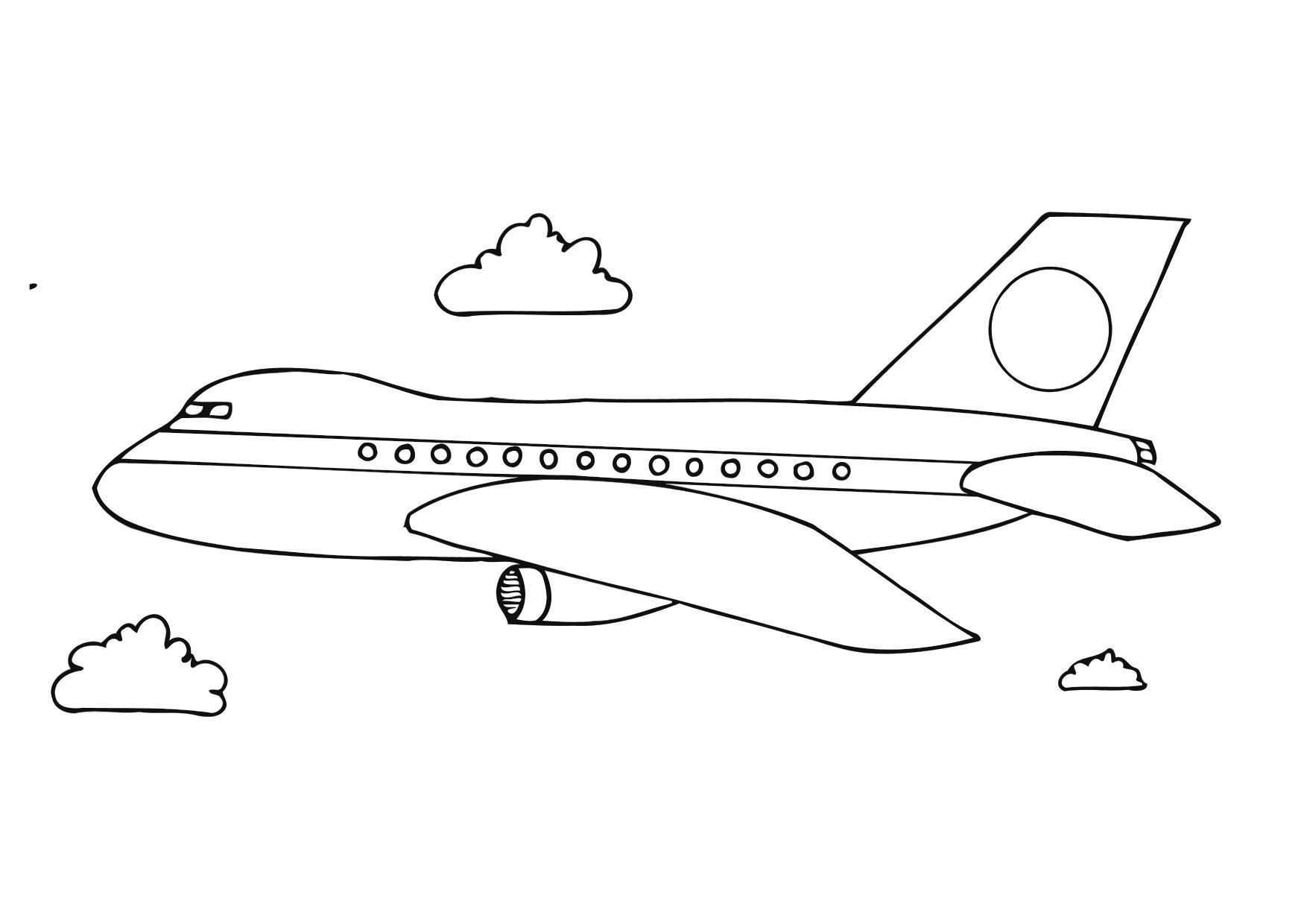 Airplane Coloring Pages Coloring Pages Of Aeroplane Beautiful Airplane Coloring Pages