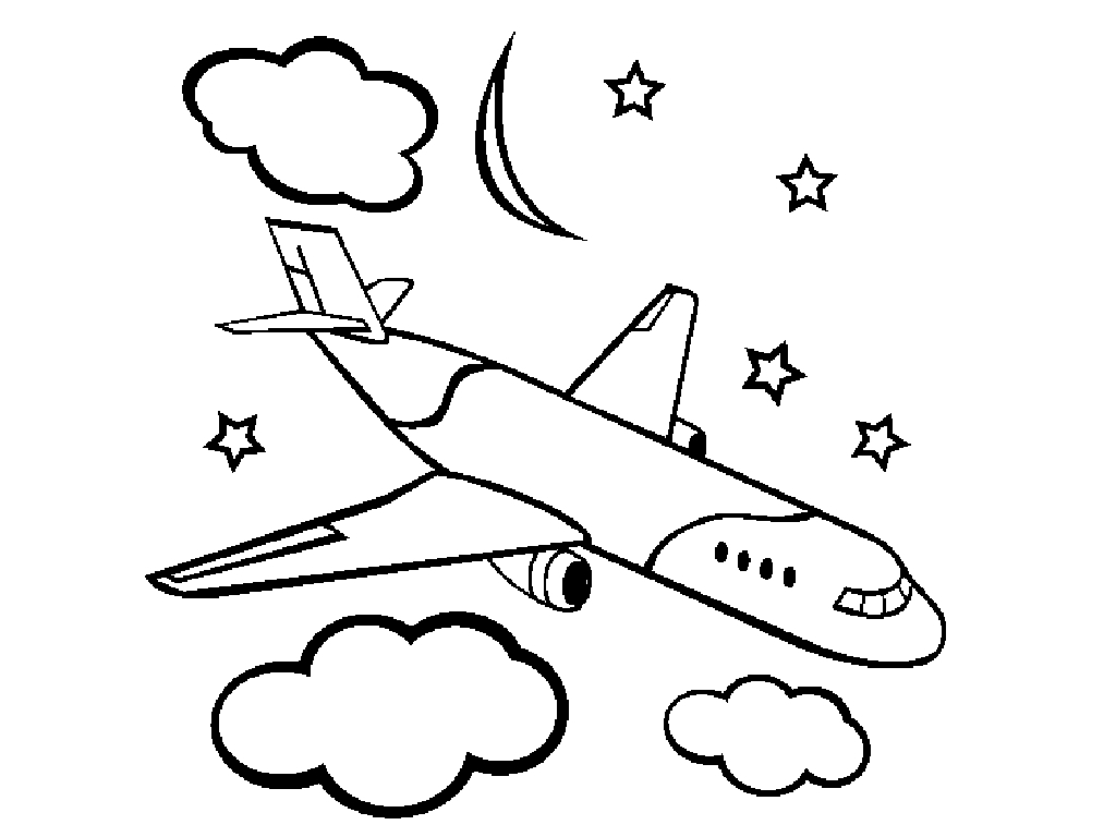 Airplane Coloring Pages Free Printable Airplane Coloring Pages For Kids