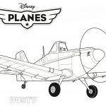 Airplane Coloring Pages Planes Coloring Pages Disney Planes Dusty Coloring Page Free