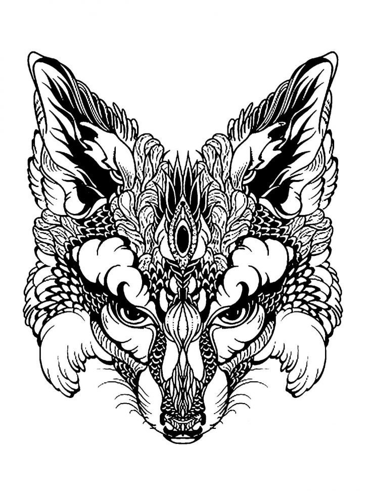 Animal Mandala Coloring Pages Animal Mandala Coloring Pages For Adults Difficult Animals 42 Kids