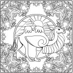 Animal Mandala Coloring Pages Animal Mandalas Coloring Pages Free Coloring Pages
