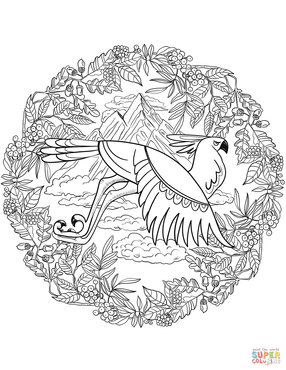 25+ Inspiration Image of Animal Mandala Coloring Pages