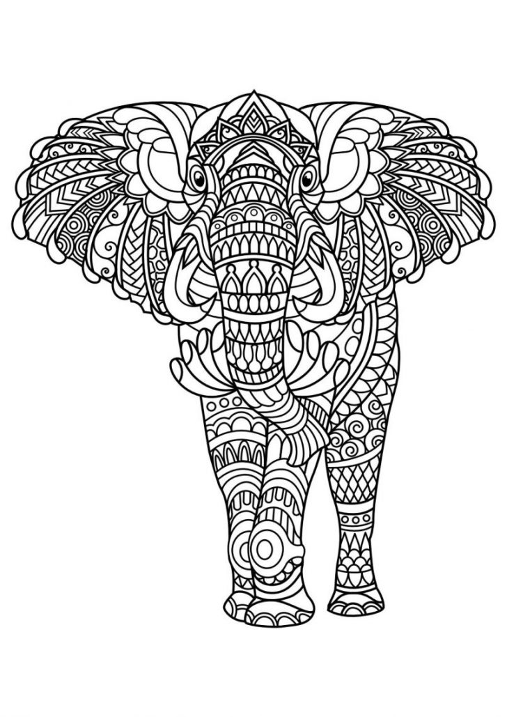 Animal Mandala Coloring Pages Best Of Animal Mandala Coloring Pages Collection Printable
