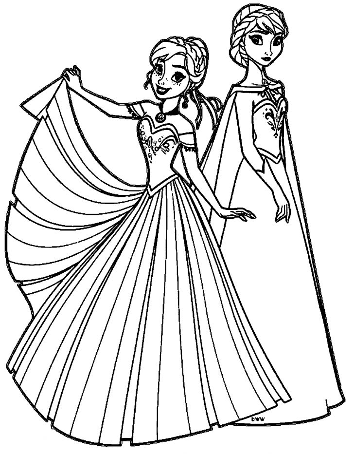 Anna Coloring Pages 28 Elsa Anna Coloring Pages Images Free Coloring Pages Part 3