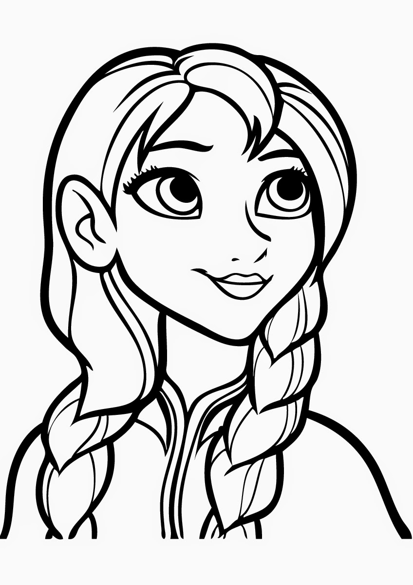 Anna Coloring Pages Free Printable Frozen Coloring Pages For Kids Best Coloring Pages
