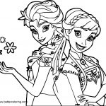 Anna Coloring Pages Frozen Elsa And Anna Coloring Pages Free Printable Coloring Pages