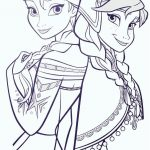 Anna Coloring Pages New Elsa And Anna Olaf Coloring Pages C Trade