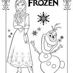 Anna Coloring Pages The Frozen Coloring Pages Free Coloring Pages