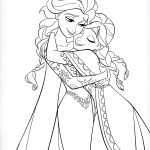 Anna Coloring Pages Walt Disney Characters Images Walt Disney Coloring Pages Queen
