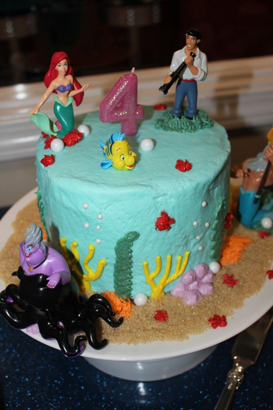 1066 X 1600 In 23 Inspired Picture Of Ariel Birthday Cakes