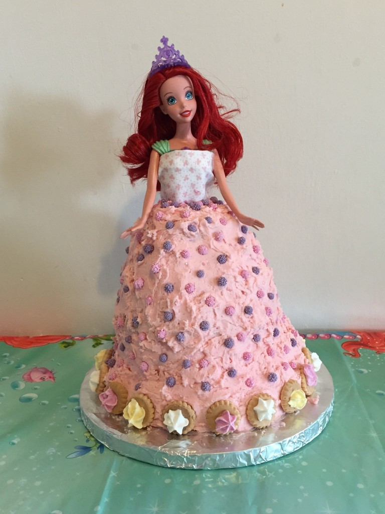 Ariel Birthday Cakes How To Make A Little Mermaid Doll Ariel Birthday Cake Pinkscharming