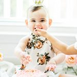 Baby Birthday Cake First Birthday Smash Cake Vanilla Crazy Cake Recipe Glitter Inc