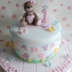 Baby Birthday Cake Teddy Bear Themed First Birthday Cake Child Cake Cake Birthday