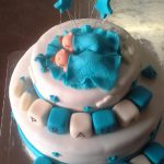 Baby Birthday Cake Twins 1st Birthday Cake Online Miras Dial A Cake Bangalore