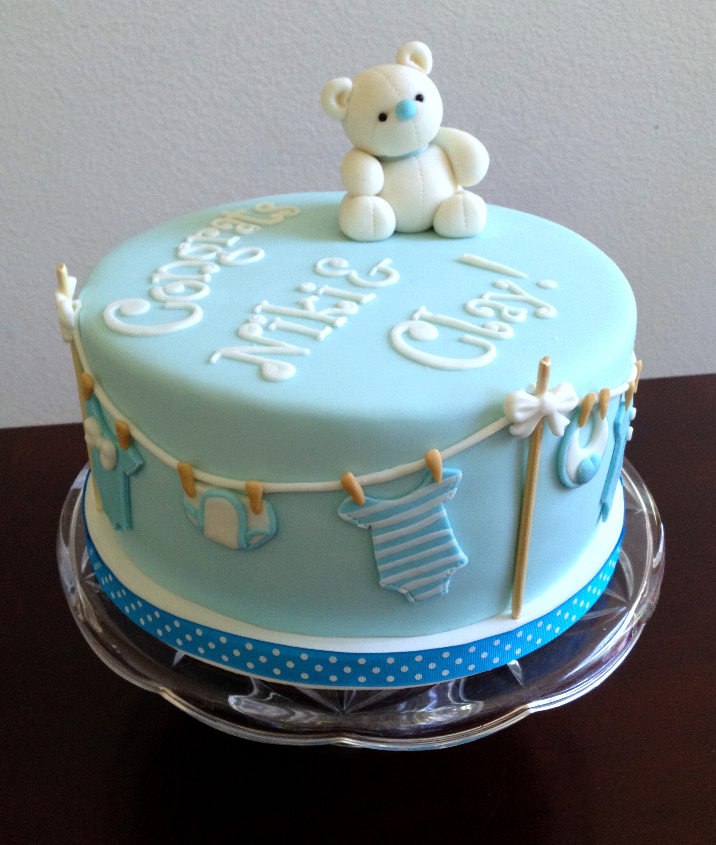 2299 X 2713 In 23 Pretty Picture Of Baby Boy Birthday Cakes