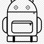 Backpack Coloring Page Backpack Coloring Image Dora Page Of Camping Artfairsinternational