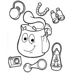 Backpack Coloring Page Backpack Coloring Page Bitslice