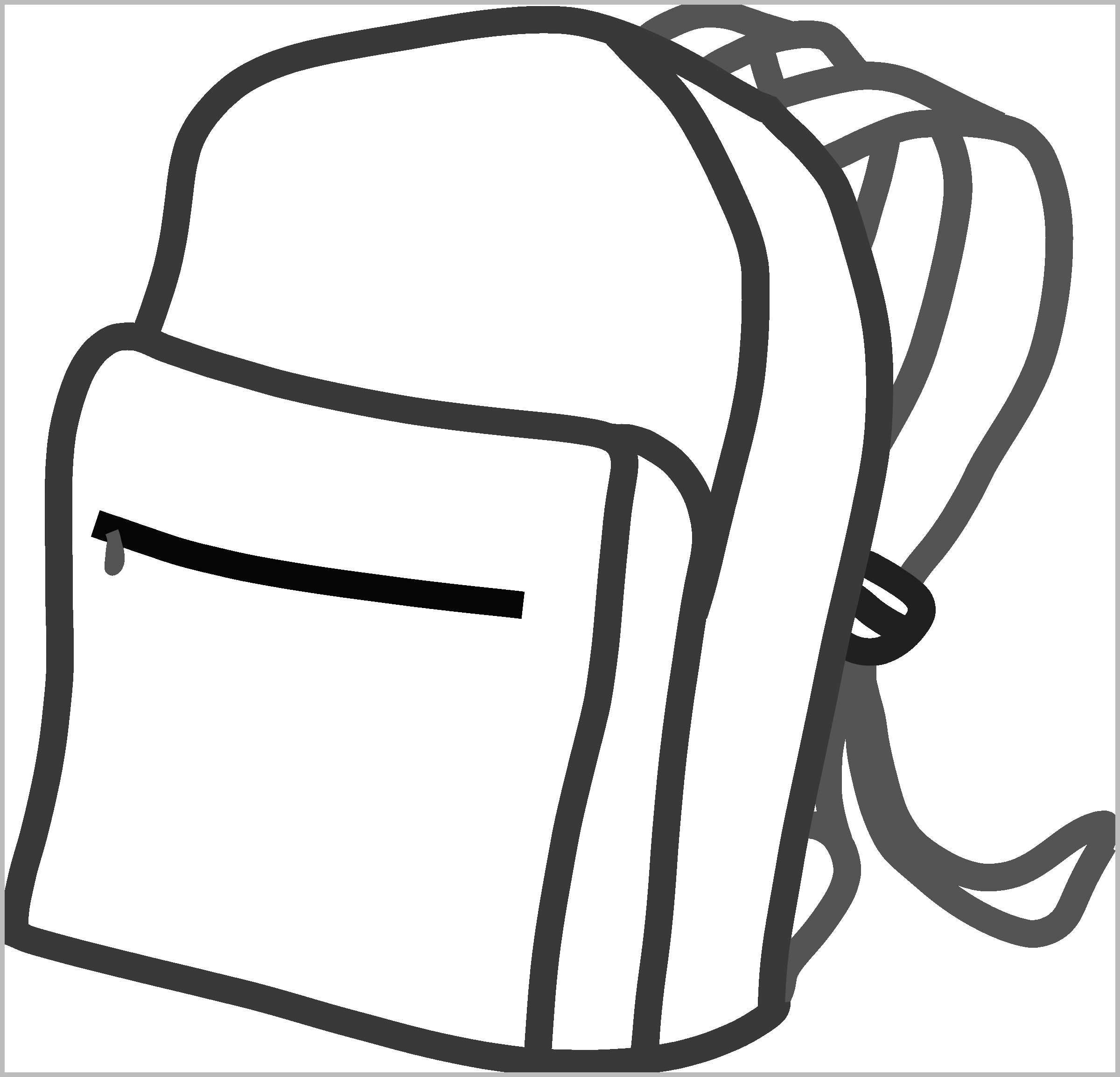 Backpack Coloring Page Backpack Coloring Pages Admirable Backpack Coloring Page Best Of